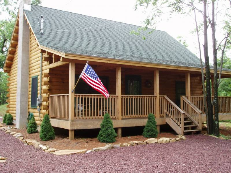 Indian Mountain Lakes Original Log Cabin