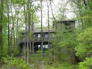 Big Bass Lake Pet Friendly Home Overlooking Lake Natalie