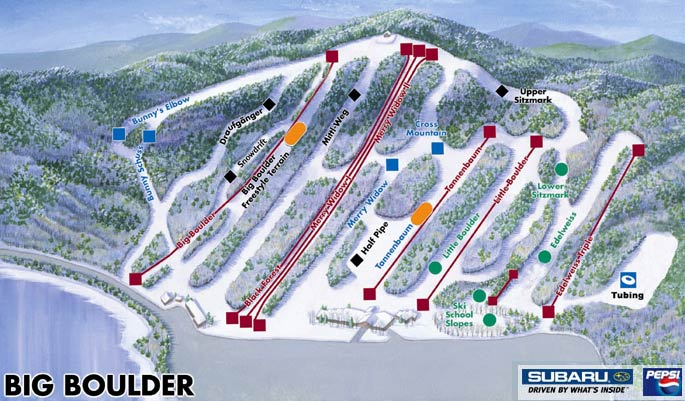 Pocono Ski Areas - Big Boulder