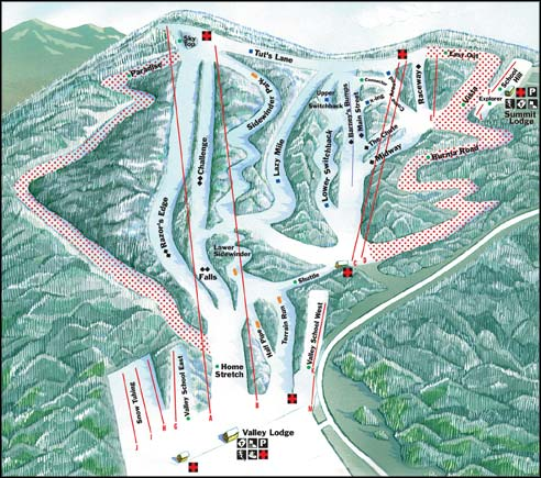 Pocono Ski Areas - Blue Mountain